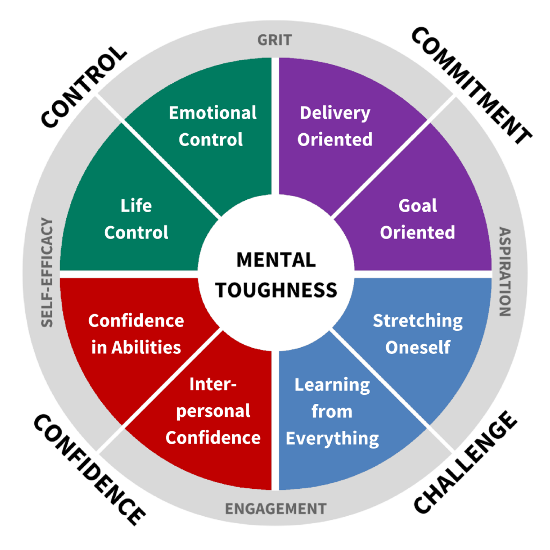 MTQ48 Mental Toughness Model