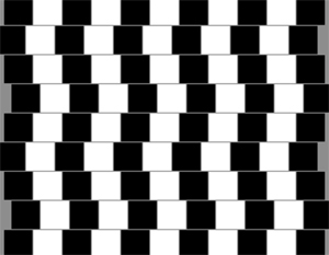 horizontal lines illusion